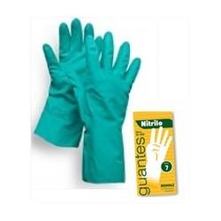 Luva Nitrilo Verde Protecção Quimica
